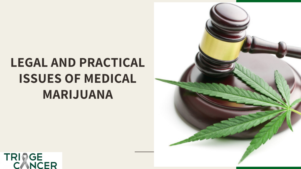 Legal and Practical Issues of Medical Marijuana