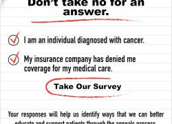 Insurance Appeals Survey